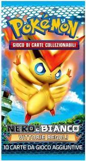 Pokemon Nero e Bianco NUOVE FORZE busta 10 carte in italiano